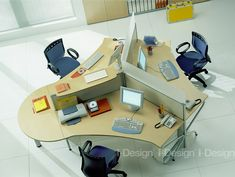 Custom solution for shared #workspaces Innovative office desk - Find out more at www.i-designgroup.it/en/design/office-design-284