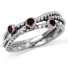 Natural Garnet 925 Sterling Silver StackStackable Ribbon Ring Size 8 ** Check out the image by visiting the link. (This is an affiliate link) Garnet, Image Link, Jewelry Design, Ribbon, Wedding Rings, Note, Engagement Rings, Sterling Silver, Amazon