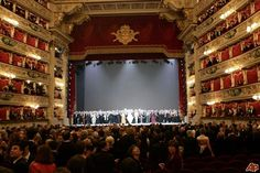 Images La Scala Theatre in Milan Stage view 14262 Creative Architecture, Theatre Stage, Italy Travel, Italy Trip, Genoa, Mind Blown, Beautiful World, Travel Guide, Opera House