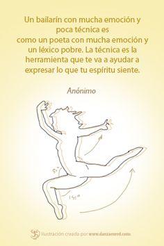 ¿Qué tan importante es la técnica y la emoción en la danza?