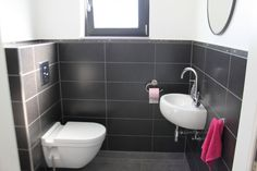 ... about Deco - Wc on Pinterest  Photos, Small basin and Toilet paper