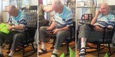 Graças à neta, homem vê foto de sua mãe pela primeira vez depois de 70 anos