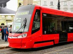 New tram Bratislava Slovakia