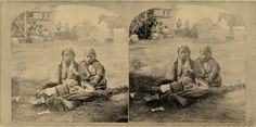 Winnebago girls - 1868