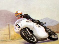 Mike Hailwwod 1958 île de Man
