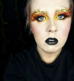 hunger games makeup the clothes hair and makeup of this