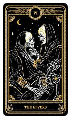 VI-The Lovers Tarot Card