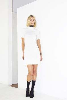 Assembly New York Spring 2016 Ready-to-Wear Fashion Show / little white dress