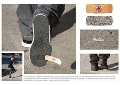 Marketing de guerrilla, arreglos de zapatos