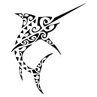 sword fish, shark teeth, hammerhead shark, waves, speed, concentration, reaching goals, adaptability, determination, strength, swordfish