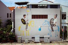 Ernest Zacharevic Artwork Singapore Oct 2013 (6)