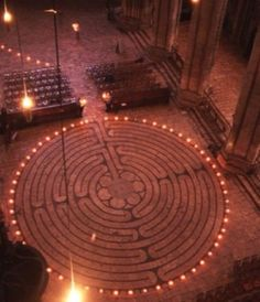 JOJO POST LABYRINTH: Chartres Cathedral, France.