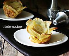 Ricetta tortino di patate a fiore - CON VIDEO RICETTA
