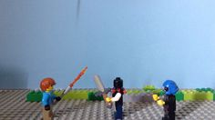 Motion Video, Stop Motion, Lego Minecraft, Internet
