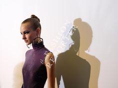 Maartje Verhoef at Atelier Versace Backstage | Haute Couture FW14-15 | Ph. Antonello Trio