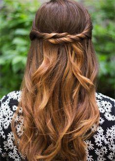 penteado pinteres torcidinho