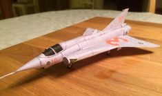 M1:72 (!!!), Saab 35 Draken Fighter Free Aircraft Paper Model Download