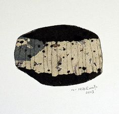 Drypoint / Chine collé / Monoprint 2013 / Washi / Sumi / Ink / 個人蔵