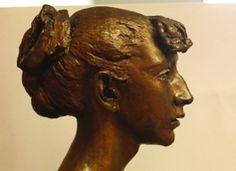jacob epstein - Google Search French Sculptor, John Singer Sargent, Side Profile, Caravaggio, Modern Sculpture, The Rock, Figurative, Illustration Art, Bronze
