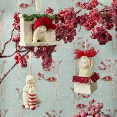 Snowbabies Celebrations Ornaments - Ornaments to hang with care, ornaments to share. Give one, give many. Shop 24/7  http://shop.department56.com/c/snowbabies_celebrations-ornaments