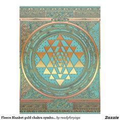 Shop Fleece Blanket gold chakra symbol yoga spiritual created by readyforyoga. Yoga Symbols, Chakra Symbols, Bring It To Me, Sri Yantra, Edge Stitch, Meditation, Poster, Sweet Home, Spirituality
