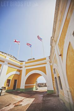 Right in the heart of Old San Juan.