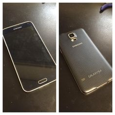 FoneStar Repair fixes cracked screens. This Galaxy s5 was restored back to mint condition. We offer both basic cell phone repair and smartphone repair in Las Vegas. FoneStar Repair also offers repairs for cell phones, smart phones, computers, tablets, and cameras