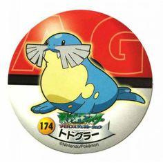 Pokemon 2006 Sapporo Ichiban Ramen AG Collection Series Sealeo Sticker