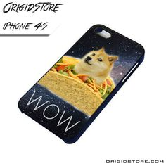 DOGE TACO HIPSTER iPhone 4 / 4S Case
