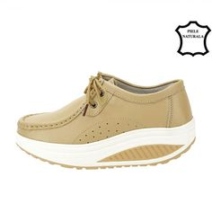 MOCASINI BEJ DIN PIELE NATURALA ARIANA Slip On, Sneakers, Shoes, Fashion, Tennis, Moda, Slippers, Zapatos, Shoes Outlet