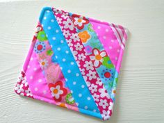 quilt as you go coaster tutorial (GREAT for beginning quilters!)