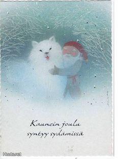 Jaana Aalto, Finland Christmas Tale, Christmas Fairy, Christmas Photos, Christmas Greetings, Vintage Christmas, Christmas Cards, Merry Christmas, Xmas, Troll