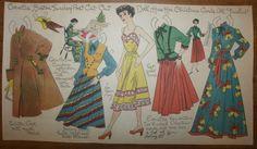 Cornelia paper doll / eBay