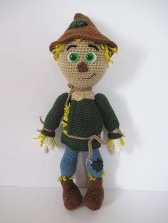 CROCHET PATTERN Wonderful World of Oz: Scarecrow