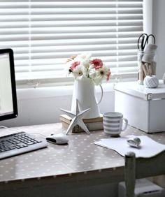 Decorar tu zona de trabajo en una casa de alquiler | Decoración
