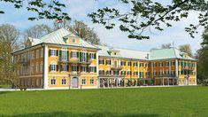Frühling/Sommer 2020 Gössl Mansions, House Styles, Summer To Fall, Oak Leaves, Frock Coat, Modeling, News, Manor Houses, Villas