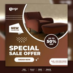 Social media banner template for furniture sale Premium Psd   Free Psd #Freepik #psd #freebanner #freebusiness #freesale #freewood