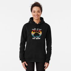 """""""Part Time Teacher Full Time Cat Mom"""" Pullover Hoodie by ind3finite 