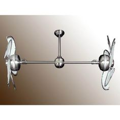 Outdoor Ceiling Fans, Twin Star III Nautical