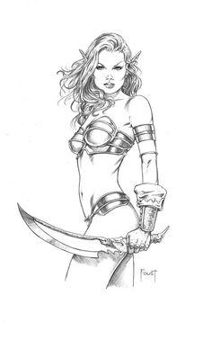 Elf Blade By MitchFoust