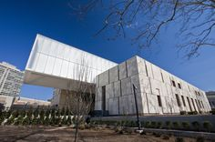 The new Barnes Foundation museum in Philadelphia. I love the stone on this building.