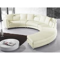 Circle sectional sofa white leather half round sofa set design round shape sofa set round sofa set designs curved sectional sofa round sofa set for living room Leather Modular Sofa, Leather Sectional Sofas, Leather Sofa, White Leather, Gebogenes Sofa, Sofa Set, Sofa Design, Interior Design, Curved Couch