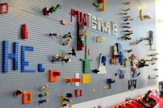 Pinterest's Perfectly Crafty SF Headquarters, californiahomedesign: Lego Land! Photo by Julia Benton #Pinterest #Lego