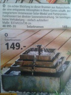 Solarbrunnen