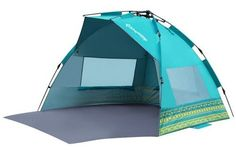 KingCamp Mississipi Sun Shelter Beach Tent Sun Shade With Extention Floor Privacy Door Portable Easy Set Up Instant Oversize UV Protection , for Camping, Beach, Outdoor, Fantacy Checkers Best Tents For Camping, Tent Camping, Camping Gear, Outdoor Camping, Outdoor Gear, Camping Store, Camping List, Camping Equipment, Beach Tent