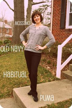 How to dress comfortably for working at home (without wearing pajamas). #workmoms #fabmamas #styleadvice [http://www.franticbutfabulous.com/2012/03/14/outfit-post-how-to-be-comfortable-working-at-home-without-wearing-your-pajamas-level-1/]