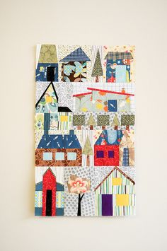 Barbara's houses by the workroom, via Flickr