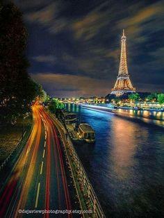 Paris Wall Decor, Paris Home Decor, Paris Wall Art, Paris Pictures, Paris Photos, Eiffel Tower At Night, Paris Photography, Fine Art Photography, Dorm Walls