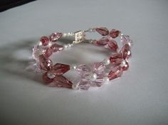 Couture Pet Necklace in pink crystals by AllAboutElegance on Etsy, $30.00