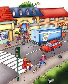 dibujos de ciudad - Resultados de la búsqueda Yahoo España Spanish 1, Spanish Memes, Spanish Class, Teaching Spanish, Police Crafts, Colegio Ideas, Communities Unit, Class Pictures, Cartoon Images